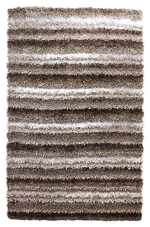 "Wilkes 5' x 7'9"" Rug, Gray, large"