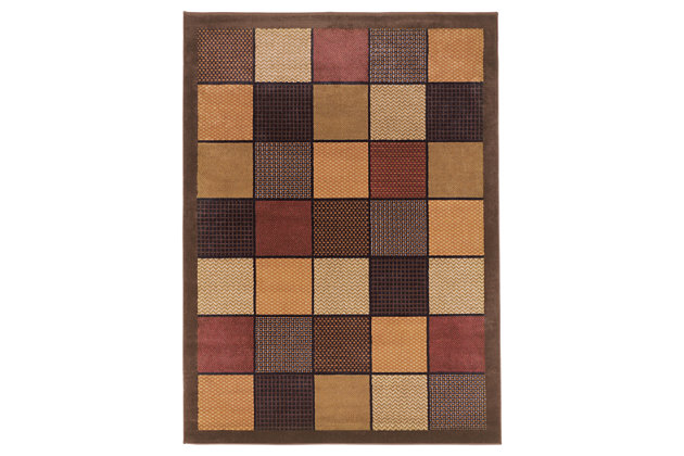 "Patchwork 5'2"" x 7'2"" Rug, , large"
