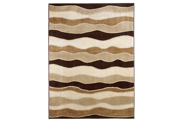 "Frequency 5' x 7'3"" Rug, , large"