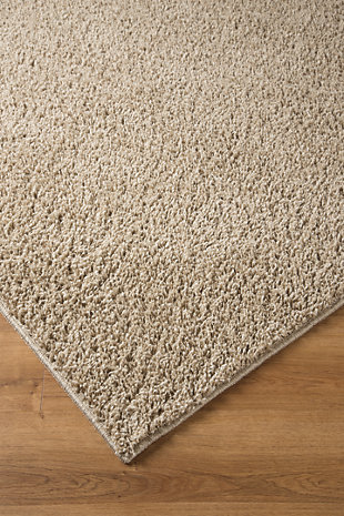 Caci 5' x 7' Rug, Beige, rollover