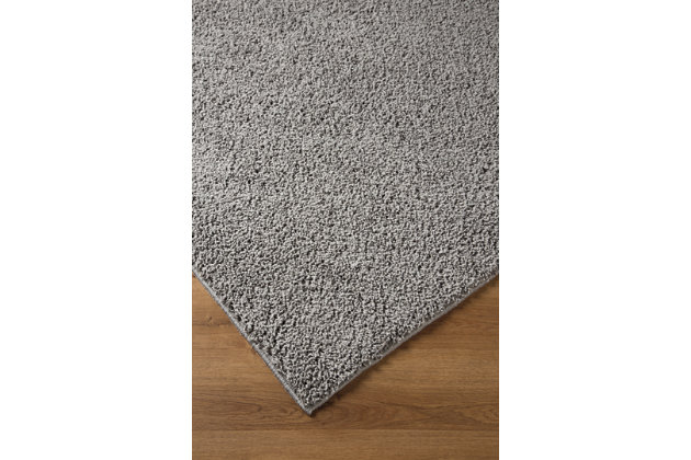 Caci 5' x 7' Rug, Dark Gray, large