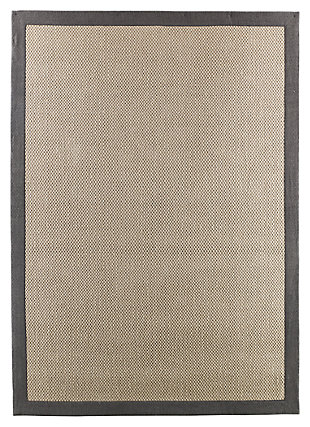 Delta City 5' x 7' Rug, Steel, large