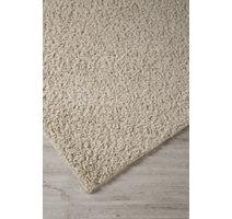 Snow solid white shag rug