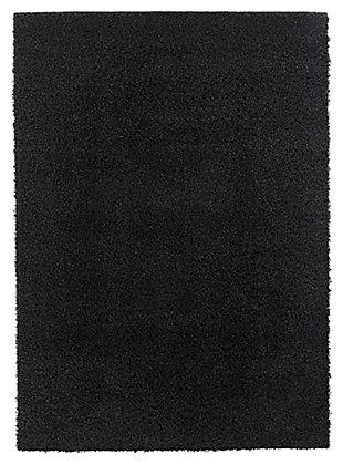 Caci 5' x 7' Rug, Charcoal, large