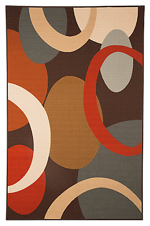 "Acciai 4'4"" x 6'10"" Rug, , large"
