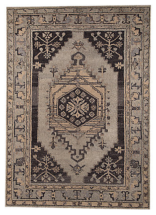 Dallan 5' x 8' Rug, Gray, large