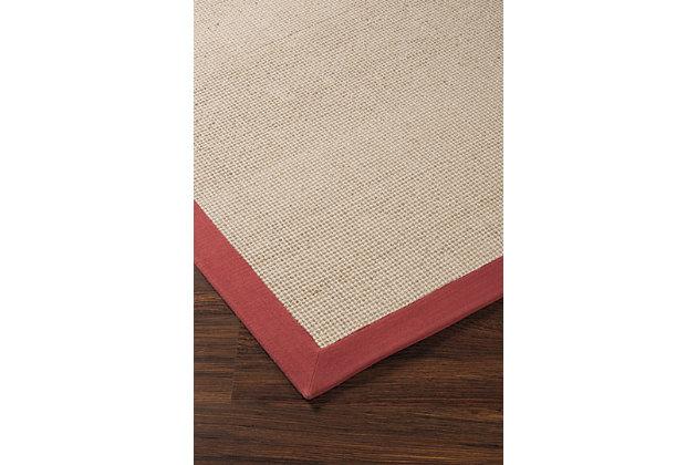 Ebenezer 5' x 8' Rug, Rust, large