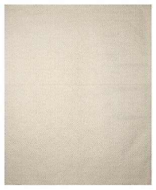 Harper 8' x 10' Rug, Ivory, large