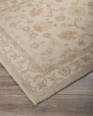 Hobbson 8' x 10' Rug, Tan, large