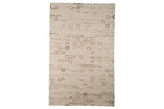 Newat 8' x 10' Rug, Ivory, large