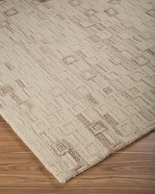 Newat 8' x 10' Rug, Ivory, rollover