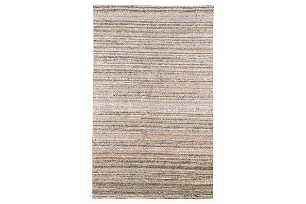 Beldier 5' x 8' Rug by Ashley HomeStore, Tan, Cotton/wool