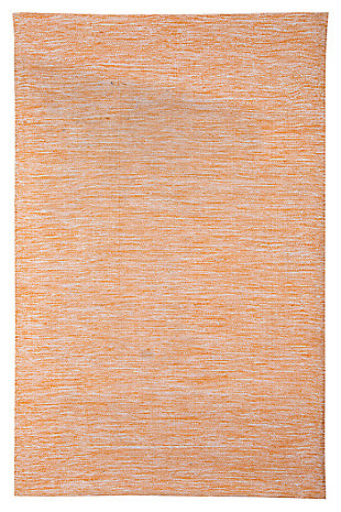 Serphina 5' x 8' Rug, Orange, large