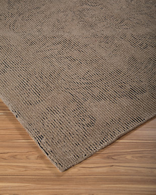Burks 5' x 8' Rug, Brown, rollover