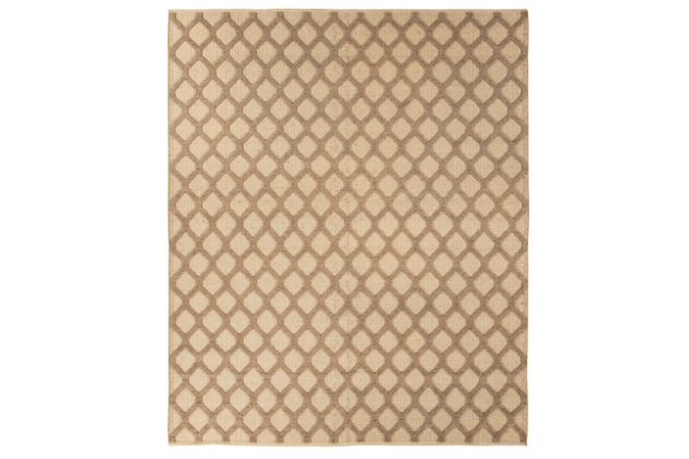Baegan 5' x 8' Rug, Natural/Taupe, large