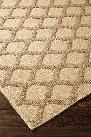 Baegan 8' x 10' Rug, Natural, large