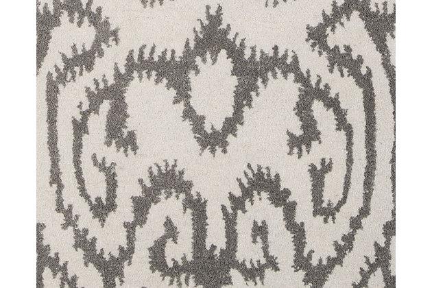 Benbrook 8' x 10' Rug, Gray/Ivory, large