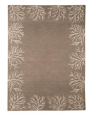 Kierin 8' x 10' Rug, Gray/Cream, rollover