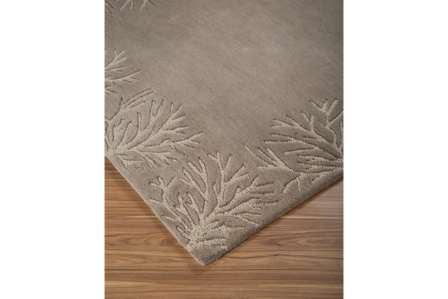 Kierin 8' x 10' Rug, Gray/Cream, large