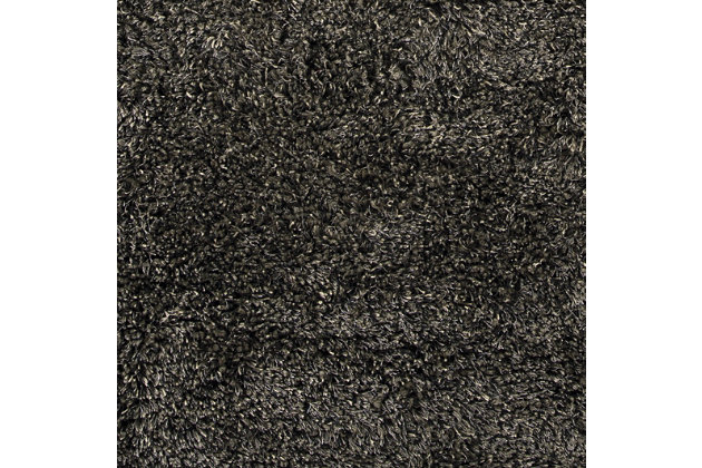 Hermon 8' x 10' Rug, Black, large