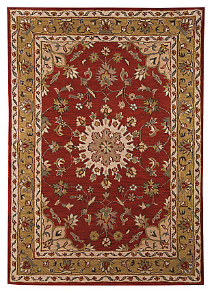 Maroney 8' x 10' Rug, Red, large