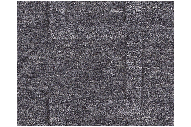 Weir 5' x 8' Rug, Navy, large