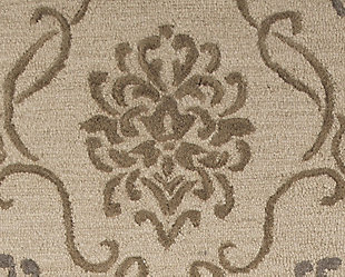 Haidar 5' x 8' Rug, Brown/Gray, large