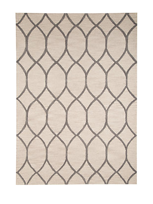 Lauder 5' x 8' Rug, Cream, large