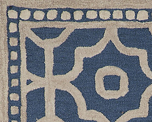 Bisbee 5' x 8' Rug, Blue, large