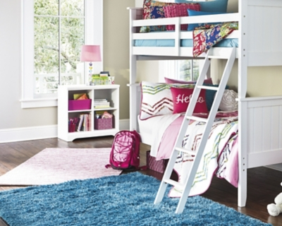 Picture of: Lulu 3 Piece Twin Over Twin Bunk Bed Ashley Furniture Homestore