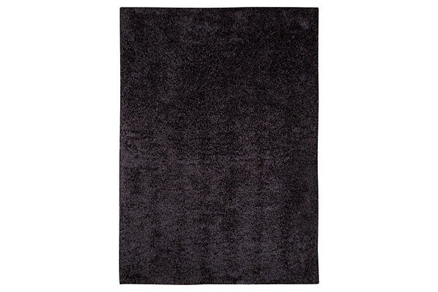 Alonso 5' x 7' Rug, Graphite, large
