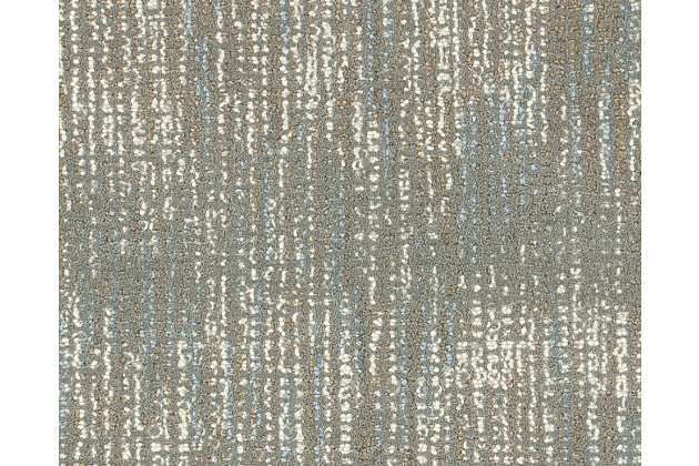 Arielo 5' x 8' Rug, Blue/Ivory, large