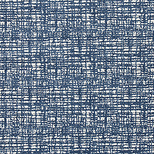 Norris 5' x 7' Rug, Blue/White, large