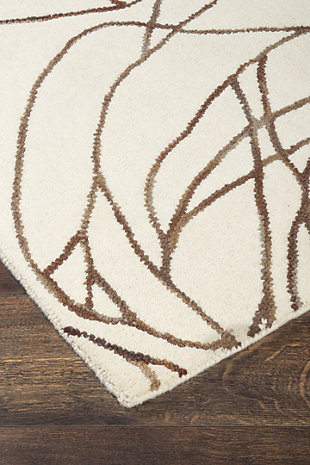 Finian 8' x 10' Rug, Rust/Brown/Tan, large