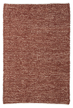 Taiki 5' x 8' Rug, Brown, large