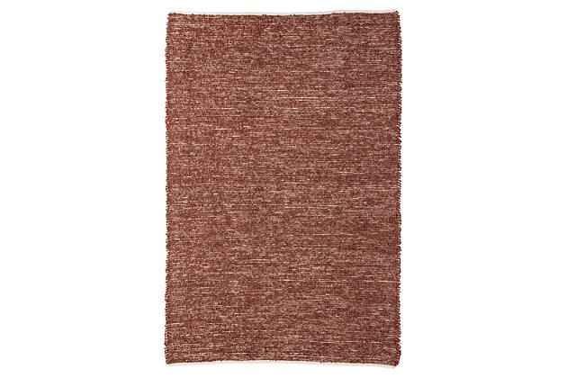 Taiki 5' x 8' Rug by Ashley HomeStore, Brown, Polyester