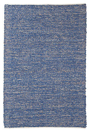 Taiki 5' x 8' Rug, Navy, large