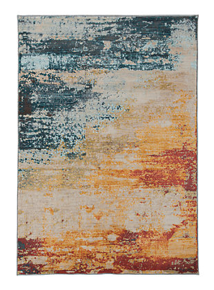 "Arwan 5'6"" x 7'6"" Rug, Multi, large"