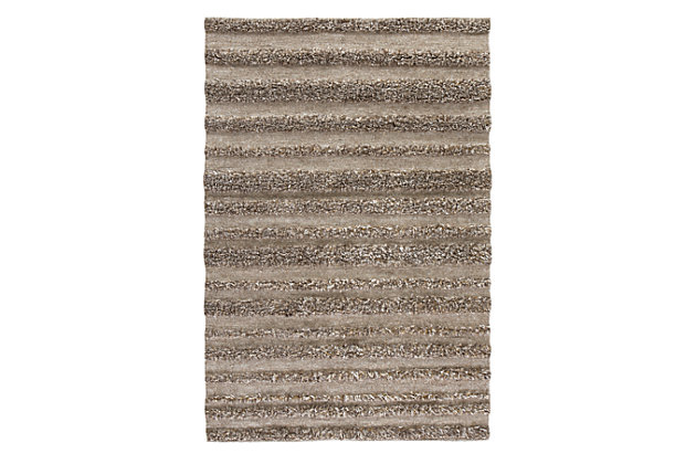 Jabari 8' x 10' Rug, Beige/Brown, large