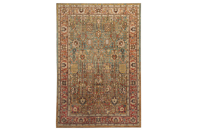 Christen 5' x 7' Rug, Multi, large