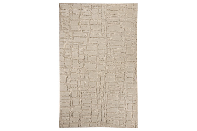 Dugan 5' x 7' Rug by Ashley HomeStore, Gray & White