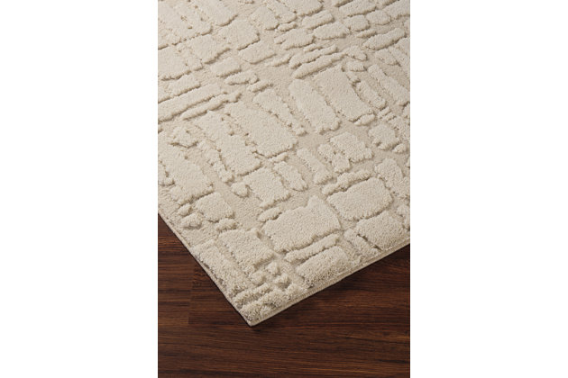 Dugan 5' x 7' Rug, Cream/Taupe, large