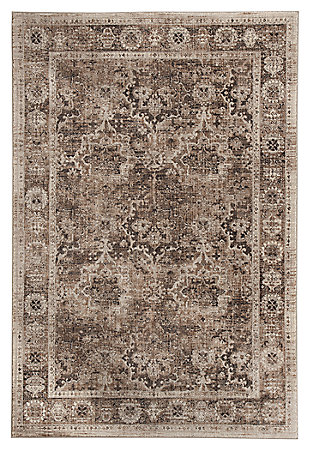 Geovanni 8' x 10' Rug, Stone/Taupe, large
