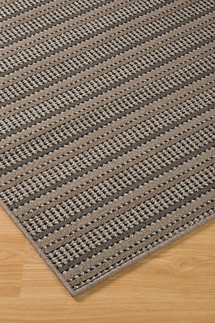 Kyley 5' x 7' Rug, Taupe, large