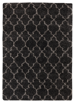 "Gate 5'3"" x 7'5"" Rug by Ashley HomeStore, Black"