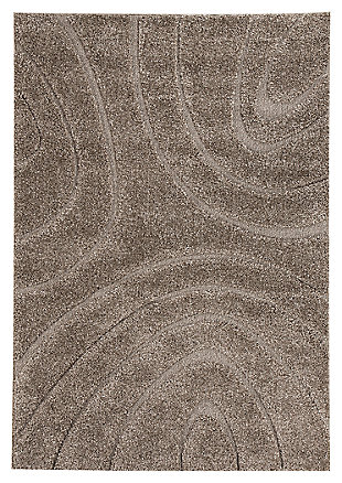 "Magnus 8'2"" x 10' Rug, Gray, large"