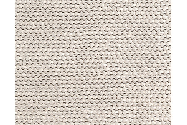 "Handwoven 5' x 7'10"" Rug, Gray, large"