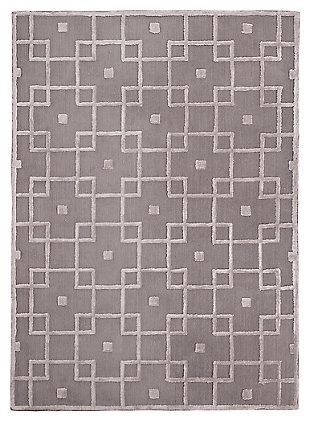 Tyrell 8' x 10' Rug, Gray, large