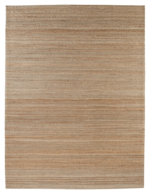"Ashley Handwoven 5' x 7'10"" Rug, Tan"