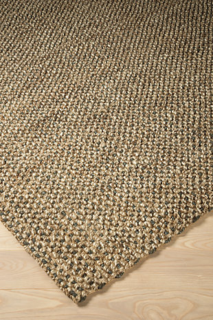 Hand Woven 5' x 7' Rug, Multi, rollover